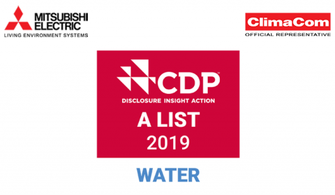 Mitsubishi Electric Named to CDP's Water