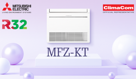 Mitsubishi Electric's MFZ-KT series floor units now with R32